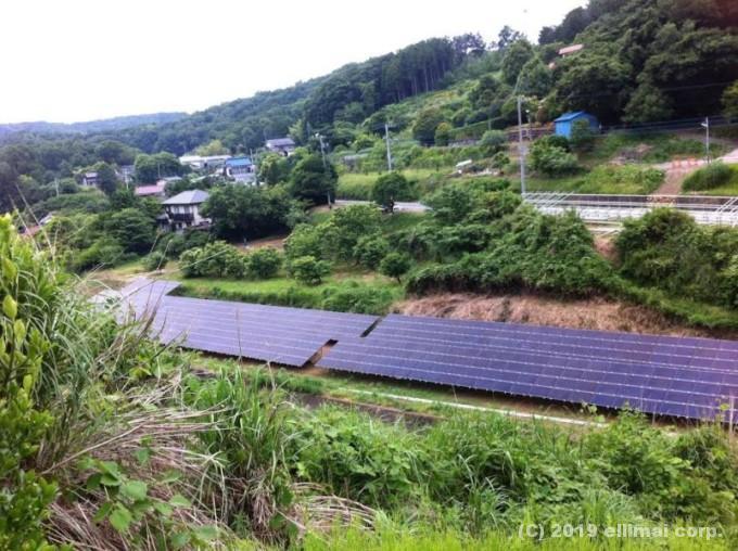 静岡県東部太陽光発電システム設置工事 エルイマイ株式会社EVBG営業本部