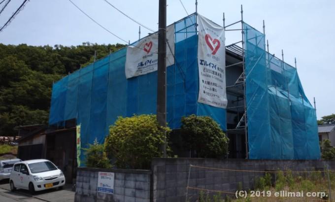 駿東郡清水町外壁塗装工事 エルイマイ株式会社EVBG営業本部