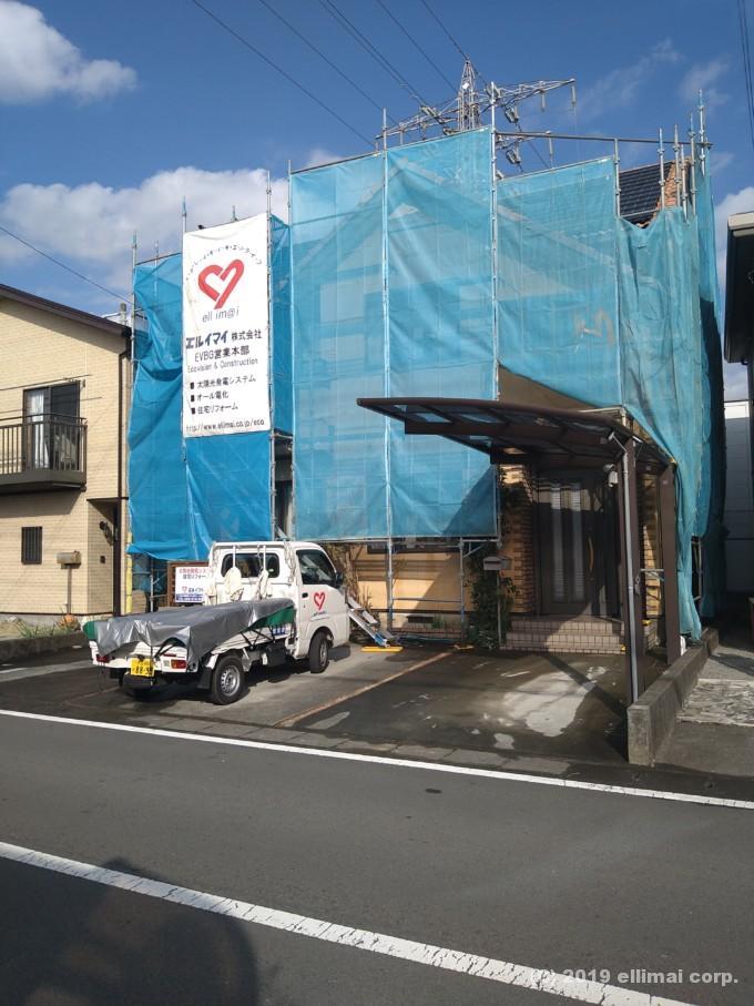 裾野市外壁塗装工事 エルイマイ株式会社
